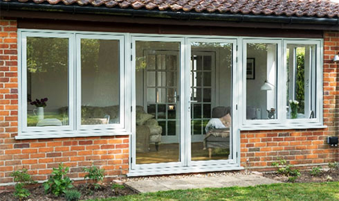 Timber Alternative French Doors